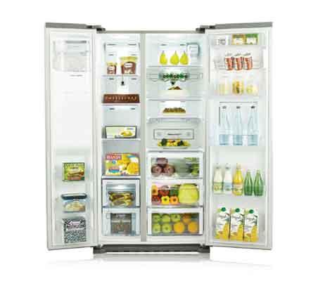 Dans un frigo américain, chaque chose est à sa place !