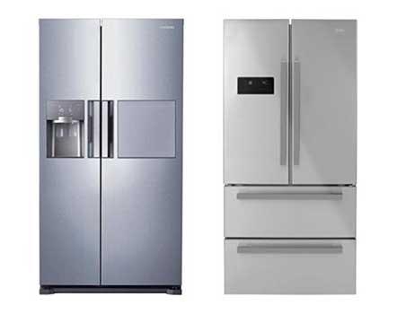 Un frigo américain side-by-side et multi-portes