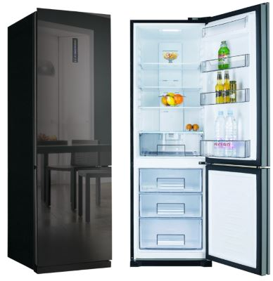 frigo am ricain miroir un effet surprenant. Black Bedroom Furniture Sets. Home Design Ideas
